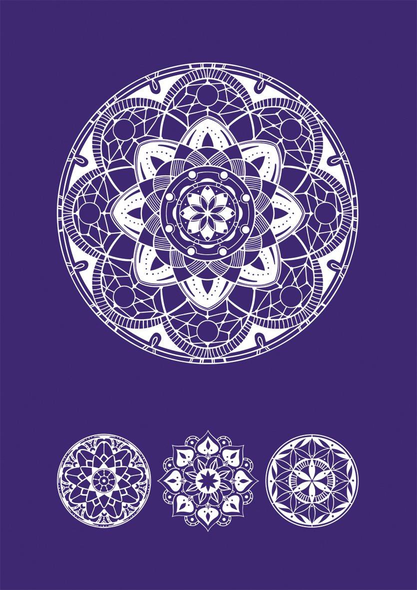 Rayher 45094000 Mascherina Art Of Mandala A5 Rayher Hobby GmbH