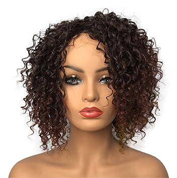 Amazon Wiginway Women Wigs Medium Curly Brown Wigs Synthetic