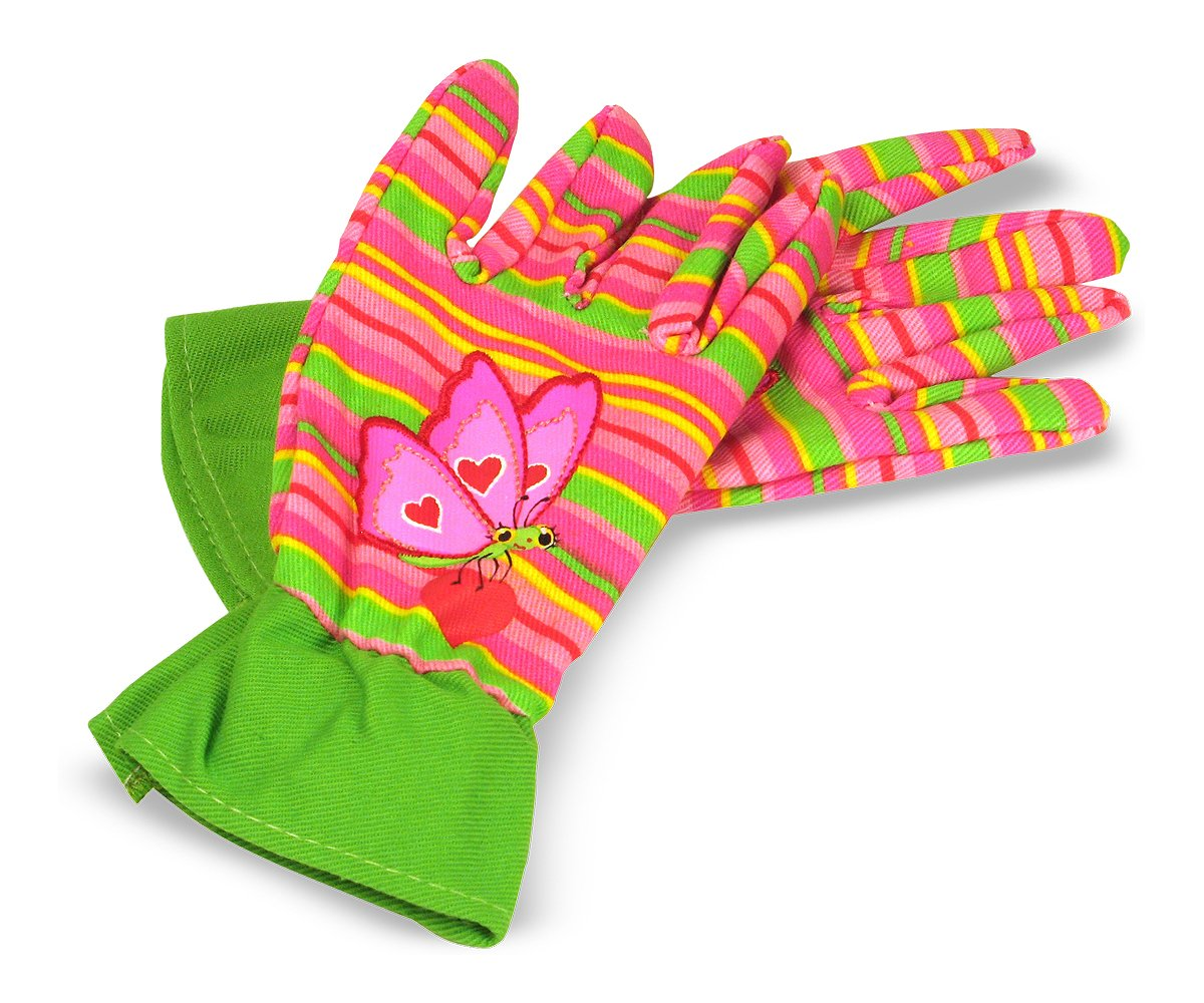 Amazon.com: Melissa U0026 Doug Bella Butterfly Gardening Gloves: Melissa U0026  Doug: Toys U0026 Games