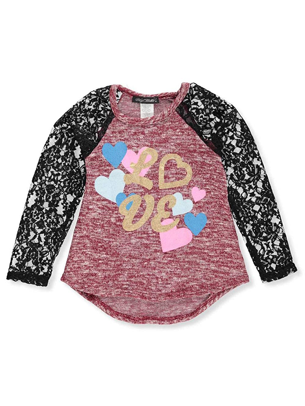 My Belle Girls' L/S Top