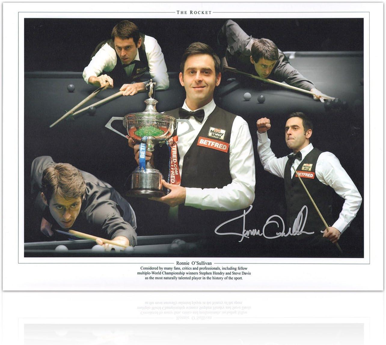 Ronnie OSullivan Snooker Firmado Foto: La mejor alguna vez hubo ...