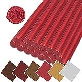 20 PCS Sealing Wax Sticks for Wax Seal Stamp Wedding Invitations Wedding Favors Manuscripts Envelopes Sealing Wine Cosmetics