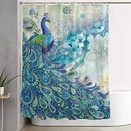 Image Unavailable Not Available For Color ELKFOREST Mandala Shower Curtain