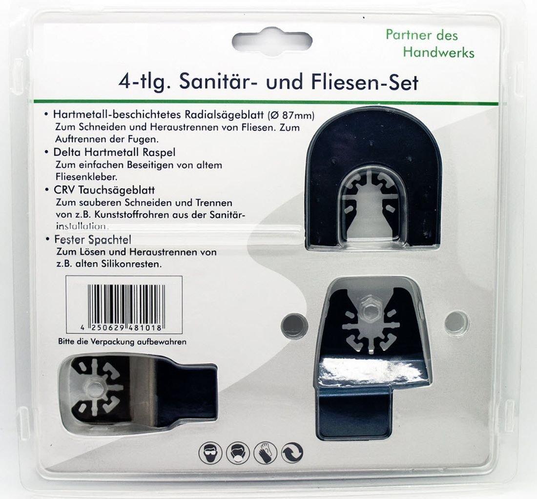 Multi Tool Set Of For Fein Multimaster GOP PMF Vibration Saw - Fliesen heraustrennen