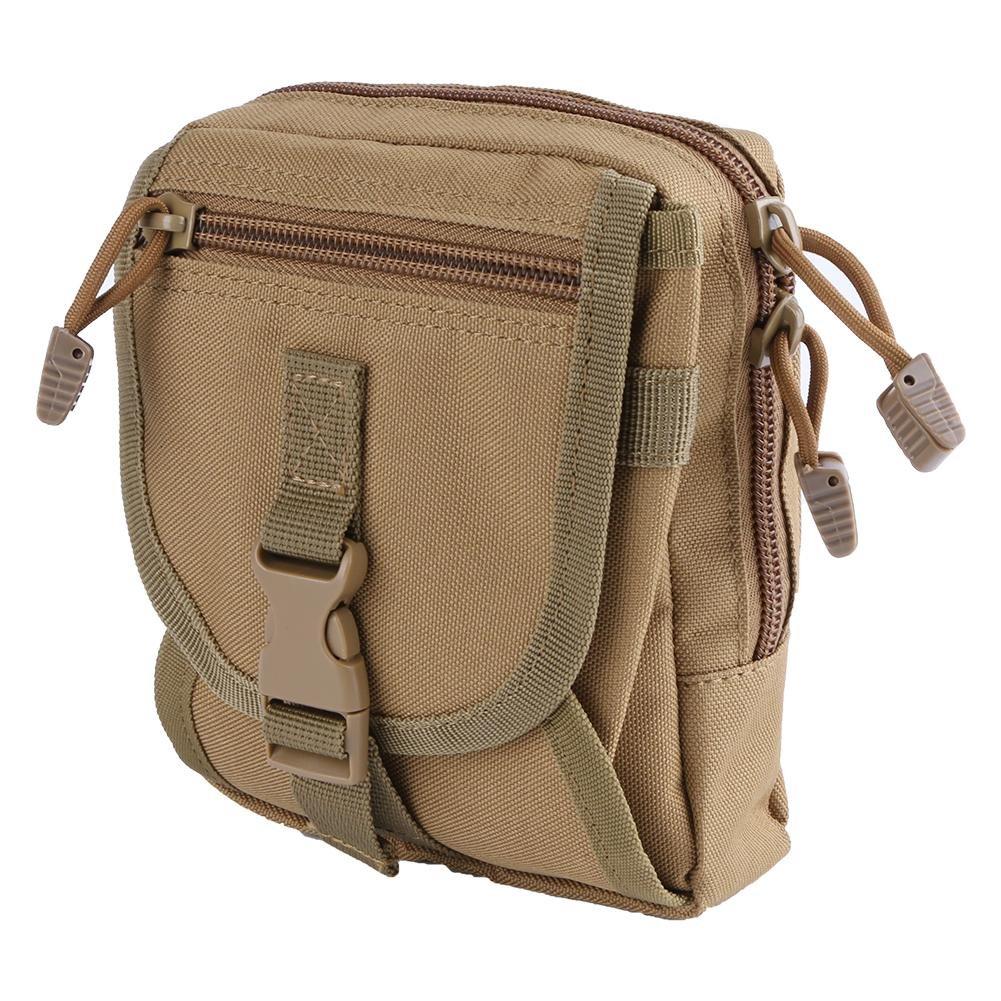 Mini Waist Bag Outdoor Sports Molle Bag Canvas Waist Pack Pouch Sikiwind