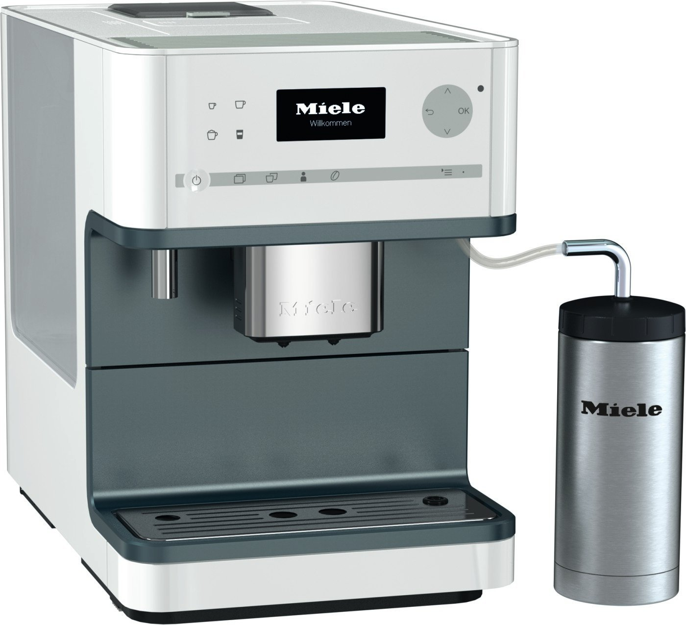 Miele CM6310 - White Coffee Machine, White (Renewed) by Miele
