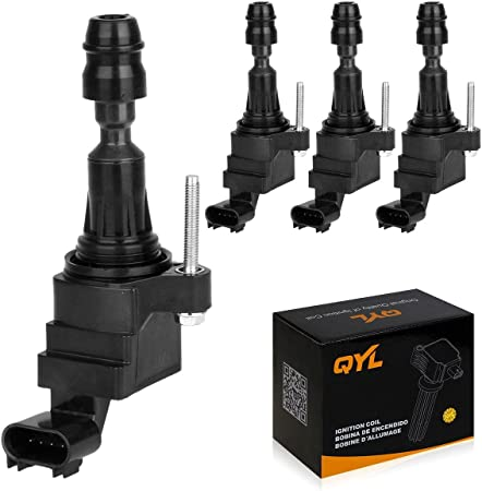4 GM OE Ignition Coils /& 4 ACDelco Spark Plugs Kit For GMC Terrain 2.4 VIN W LAF