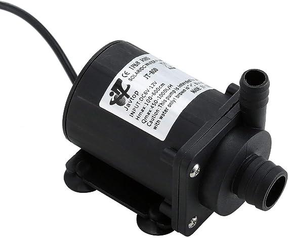 Fafada Tauchpumpe 12v Wasserpumpe Klein Elektronik