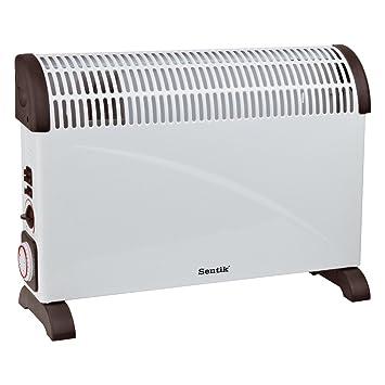 Sentik ® 2000W configuraciones de temperatura portátiles eléctrico Convector calentador con termostato , Turbo , 24