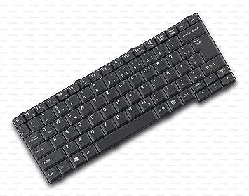 X-Comp Teclado alemán negro para Packard Bell EasyNote MZ35 ...