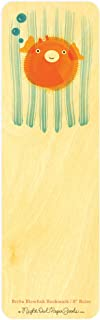 product image for Britta Blowfish Wood Bookmark/Ruler by Night Owl Paper Goods