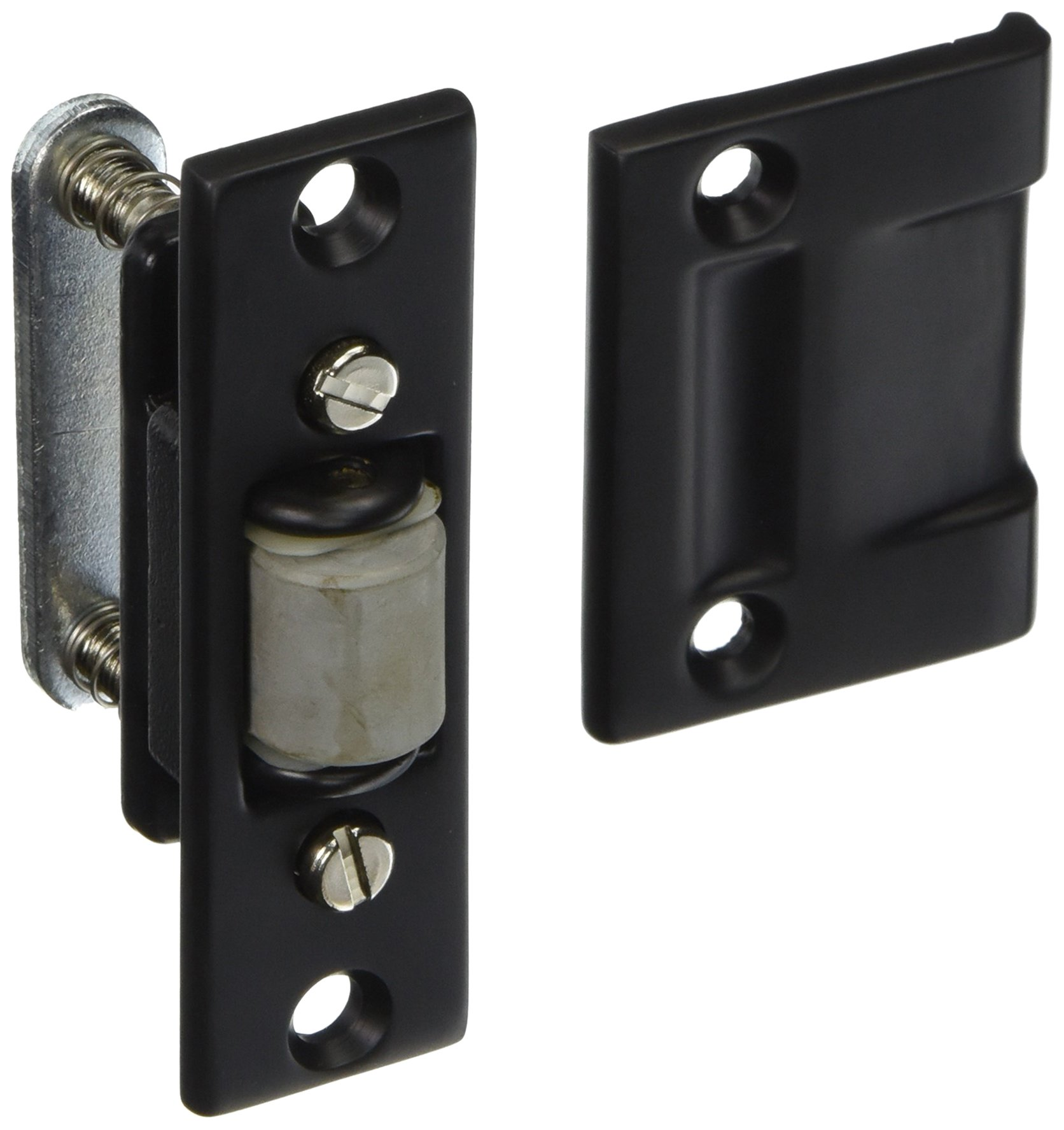 Baldwin 0430102 Roller Latch, Oil Rubbed Bronze
