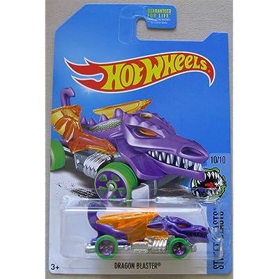 Hot Wheels 2020 Street Beasts Dragon Blaster, Purple (Treasure Hunt): Toys & Games