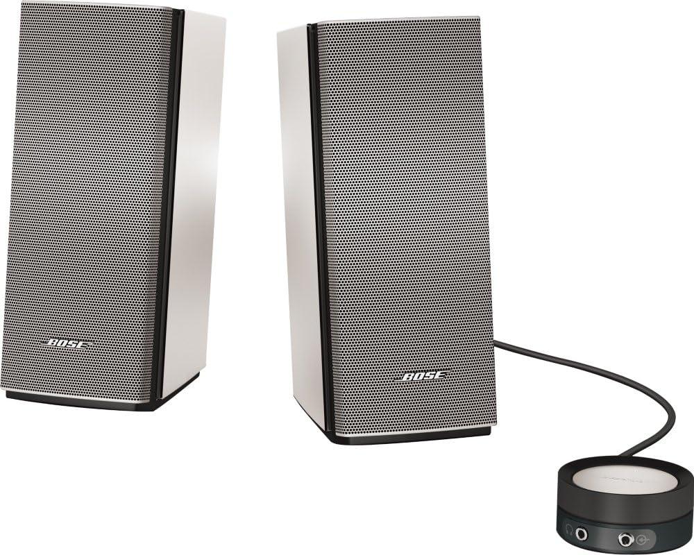 Bose Companion 20 Multimedia Speaker System Silver