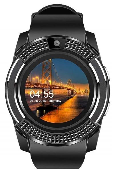 571617a99dd Xotak Smart Watch with Bluetooth Sim Card (4G Supported) Health ...