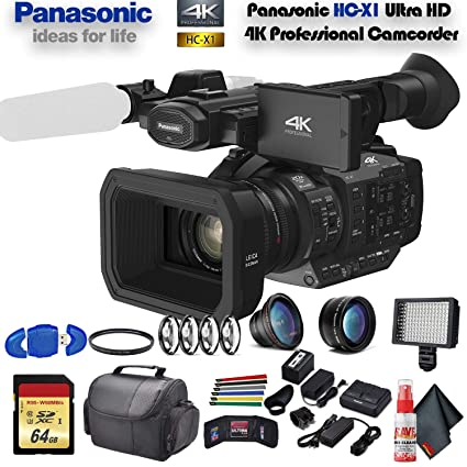 Amazon.com: Panasonic HC-X1 Ultra HD 4K videocámara ...