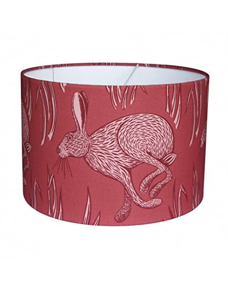 Georgia wilkinson running hare lampshade red