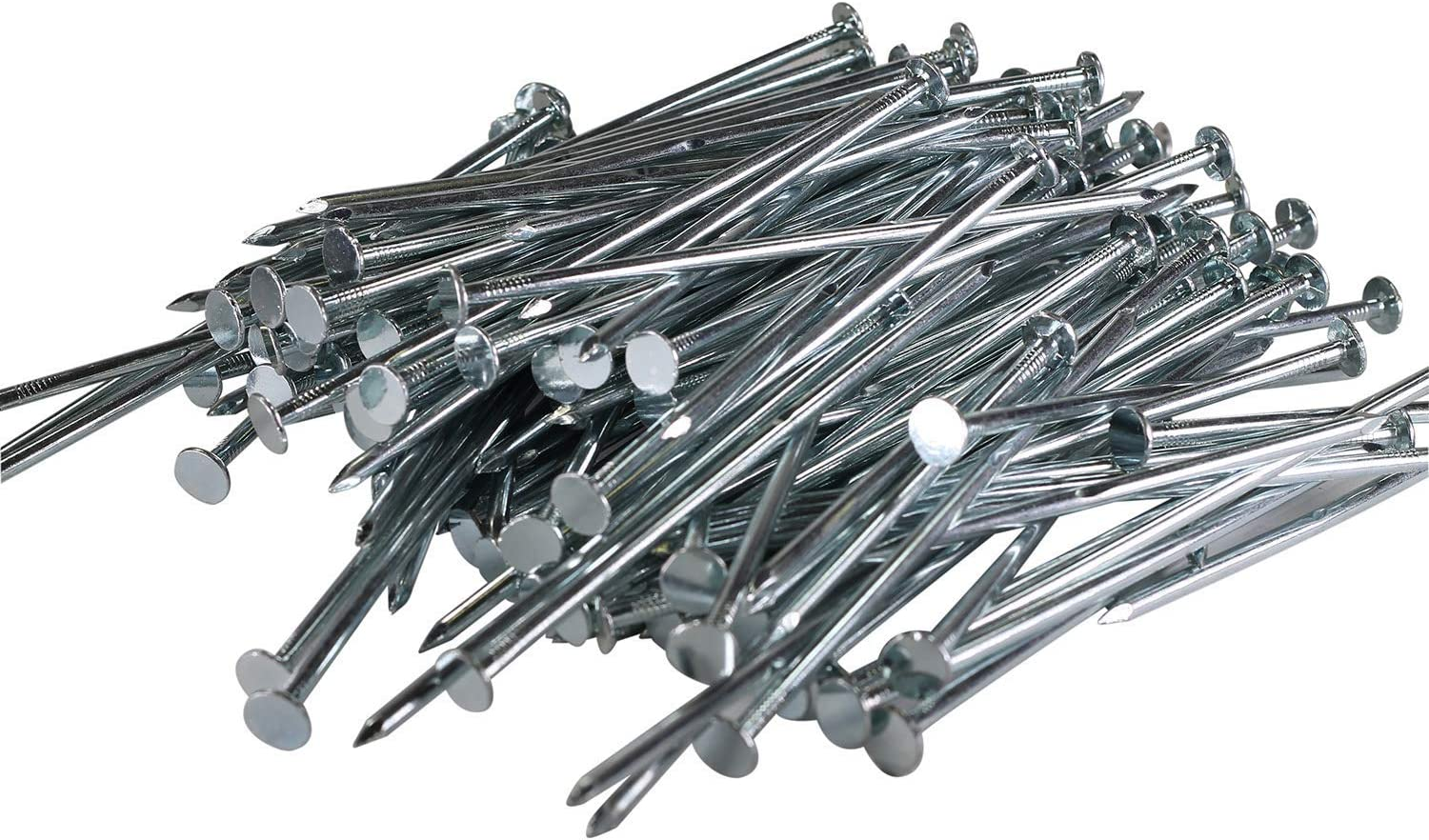 """Pinnacle Mercantile 150-Pack Artificial Turf Stakes Galvanized Nails for Fake Landscaping Grass 