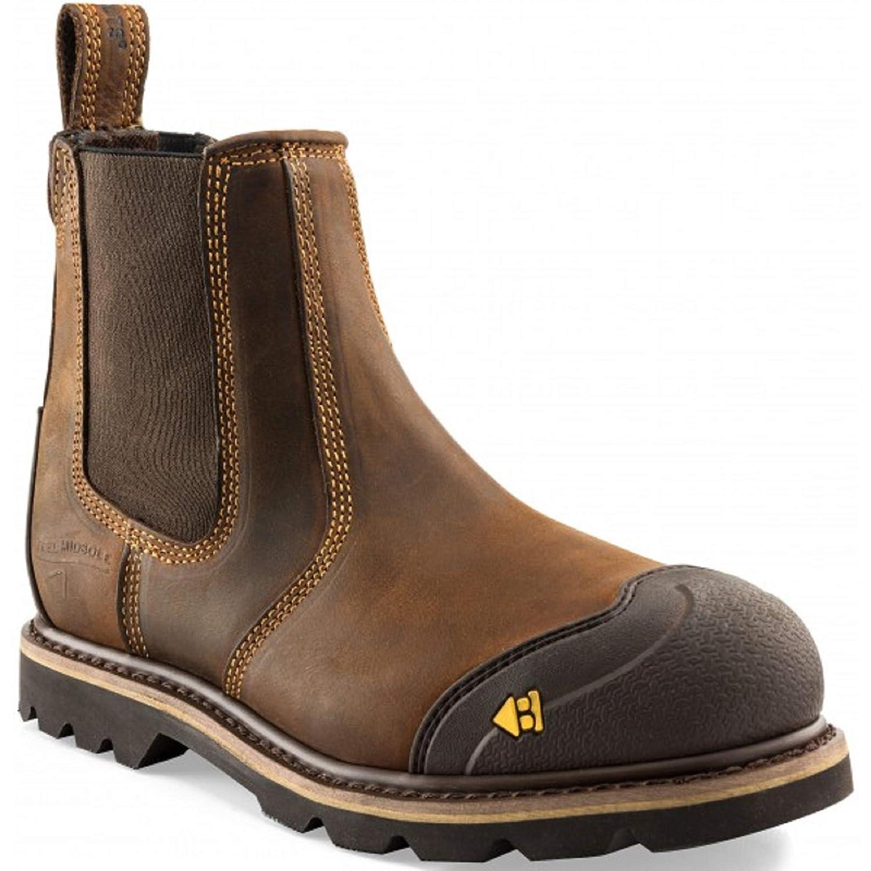 Buckler B750SMWP Dark Brown Lace Safety Boot