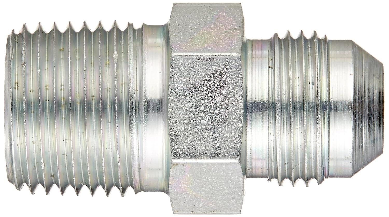 1//2 NPT Male x 1//2 JIC Male Adapter Flare-Twin Fitting JIC Eaton Weatherhead C5205X8X8 Carbon Steel SAE 37 Degree