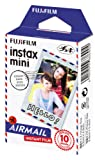 Fujifilm 16432657 Instax Mini Air Mail Développement instantané Noir