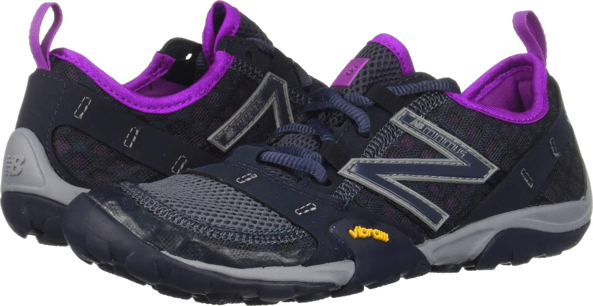 New Balance Women's 10v1 Minimus Trail Running Shoe, Outerspace/Voltage Violet, 8.5 B US by New Balance