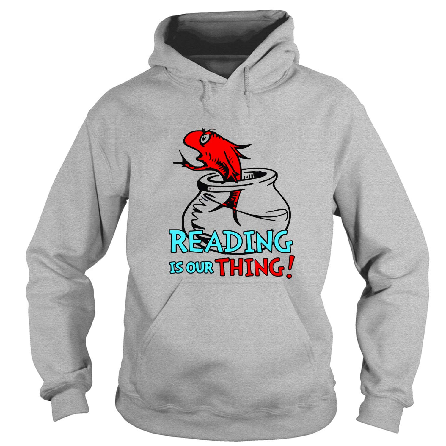 One Fish Two Fish,  Reading Is Our Thing Shirts