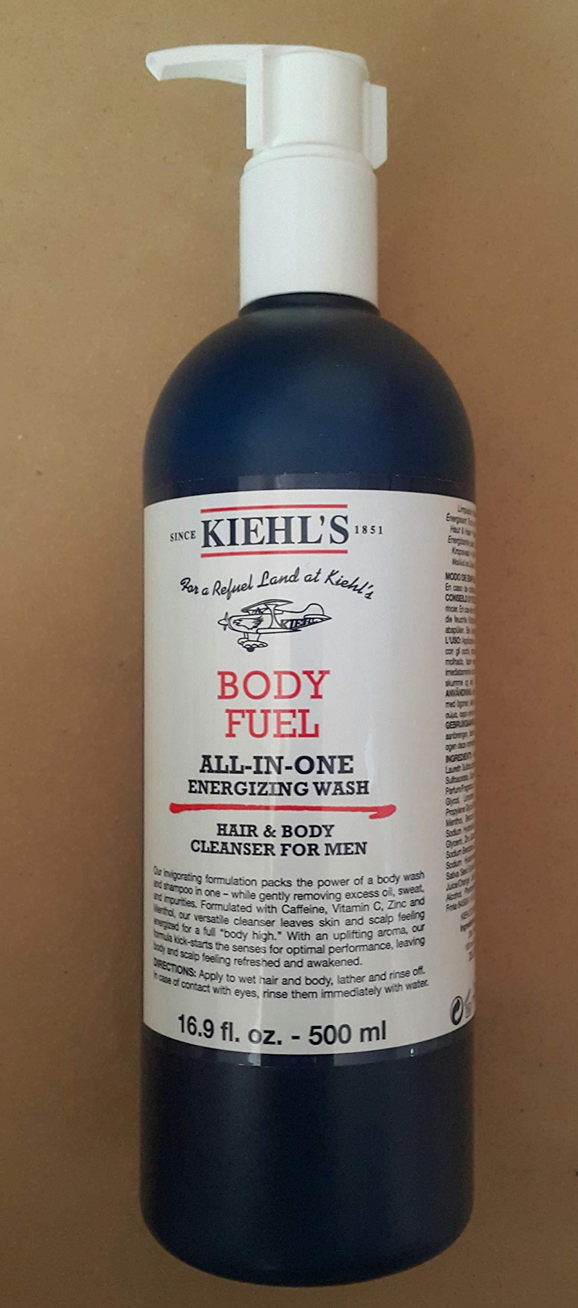 Body Fuel All-In-One Energizing Wash - 16.9oz
