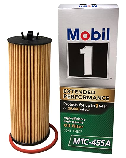 Mobil 1 Oil Filter >> Mobil 1 M1c 455a Extended Performance Cartridge Oil Filter