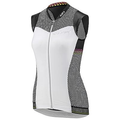 Louis Garneau 2017 Women's Course 2 Sleeveless Cycling Jersey - 1020906 (BLACK/WHITE/PINK GLOW - L)