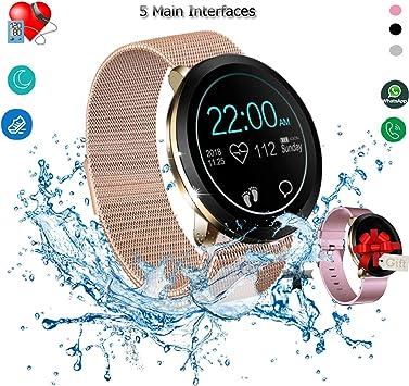 Amazon.com: Reloj inteligente, rastreador de fitness ...