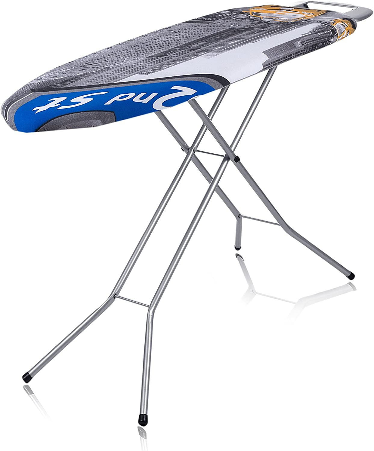 Premium Ironing Board Cover Thick Padding With Cotton Foam And Felt Pad Easy Fit
