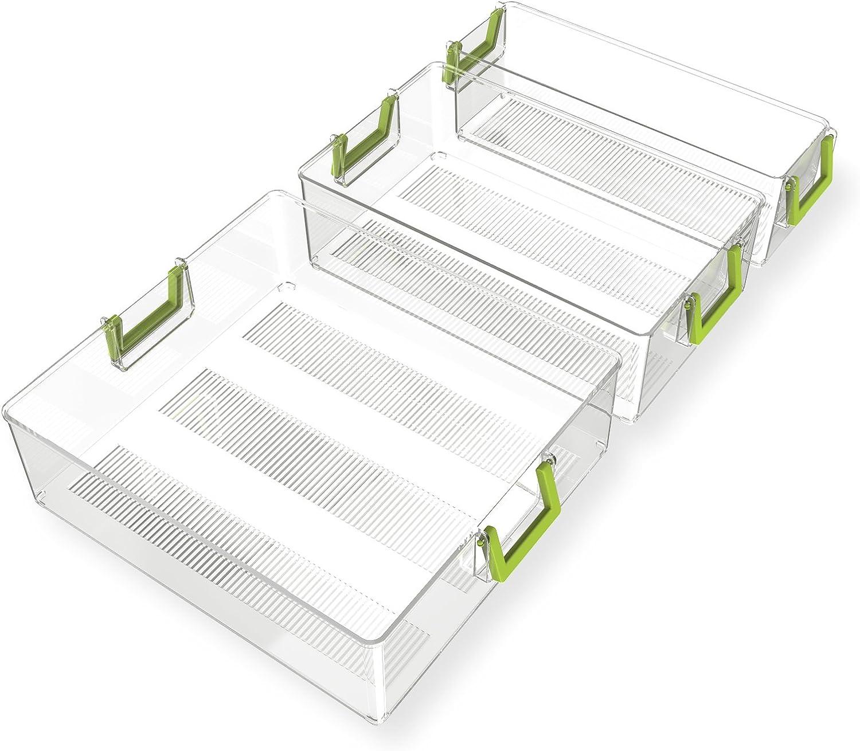 Organizador Nevera Ecológico - Quntis® 3 Pack Varios Tamaños ...