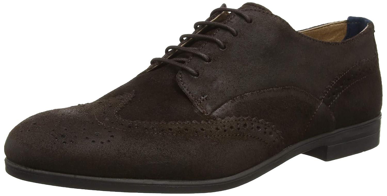 TALLA 41 EU. H by Hudson Aylesbury, Zapatos de Cordones Brogue para Hombre