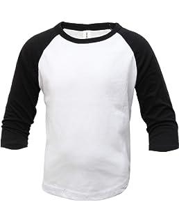 30bf8516 ILTEX Kids & Youth Baseball Raglan T-Shirt 3/4 Sleeve Infant Toddler Youth