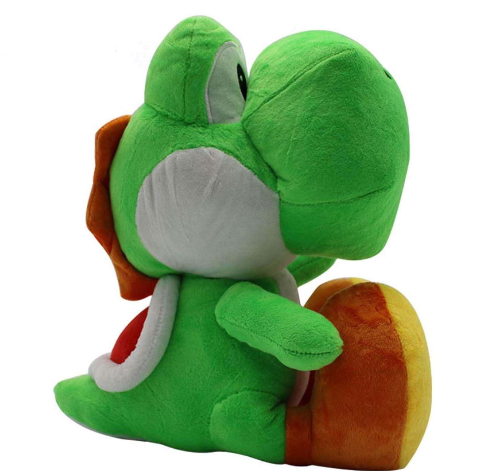 Juyo Super Mario Brother 12'' Yoshi Stuffed Plush ,Green Color.