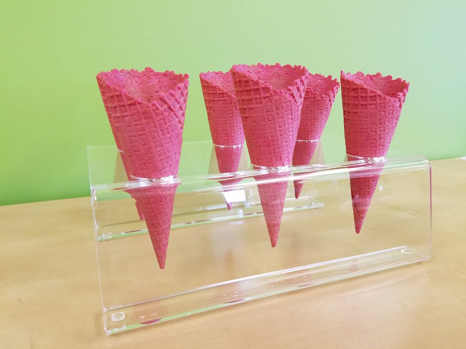Cones (2.16'' X 5.5'') - 312 Units / Case (RED) by Altimate Foods (Image #3)