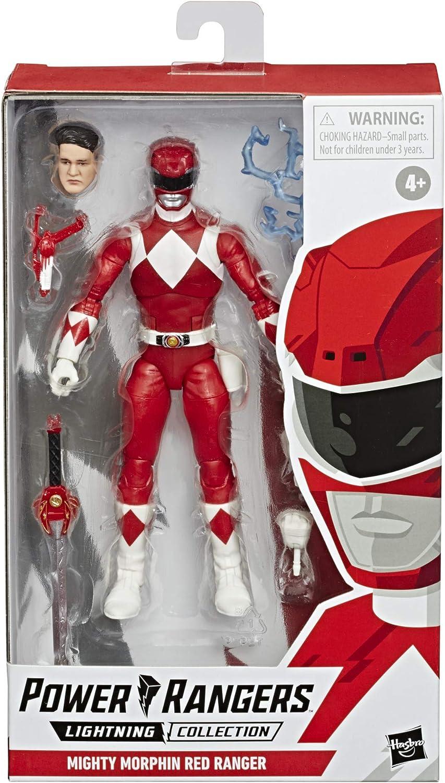 Power Rangers- Lightining Collection Figuras 15 Cm Ranger Rojo (Hasbro E7755ES0)