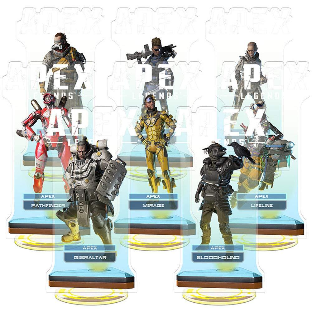 Figura de Apex Legends, figura de pie, figura de acción acrílica