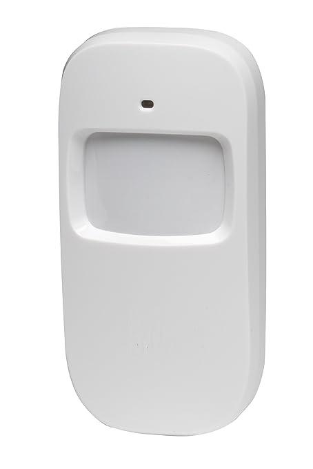 Denver Electronics ASA-50 Sensor infrarrojo pasivo (PIR) Inalámbrico Pared Blanco detector de