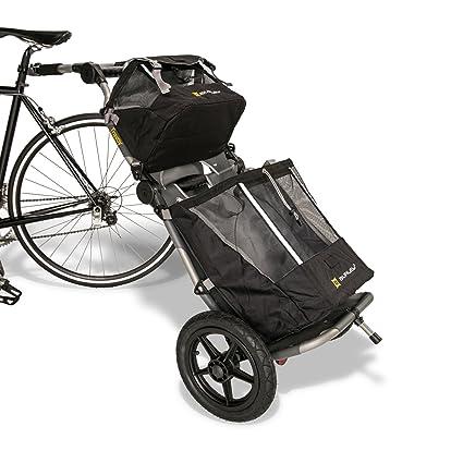 Burley - Remolque para bicicleta o carro de la compra (Incluye enganche), Set