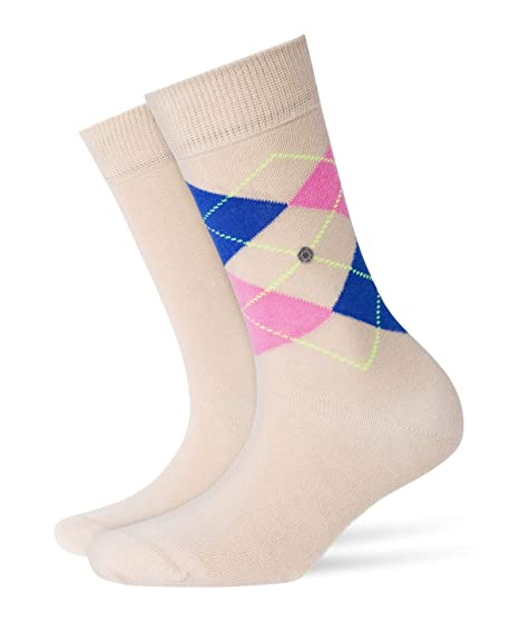 Burlington Damen Socken Everyday Argyle-uni Mix