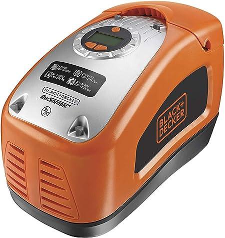 Black+Decker ASI300-QS - Compresor de aire, 160 PSI, 11 bar, Fuente de alimentación: Cable eléctrico, Rojo/Negro: Amazon.es: Coche y moto