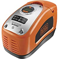 Black & Decker ASI300 Compressor, 11 bar/160 psi, digitale drukinstelling, opbergvak voor kabel, verlicht display
