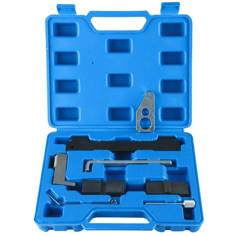 8MILELAKE Camshaft Tensioning Locking Alignment Timing Tool Kit Compatible for Chevrolet Alfa Romeo 16V 1.6 1.8