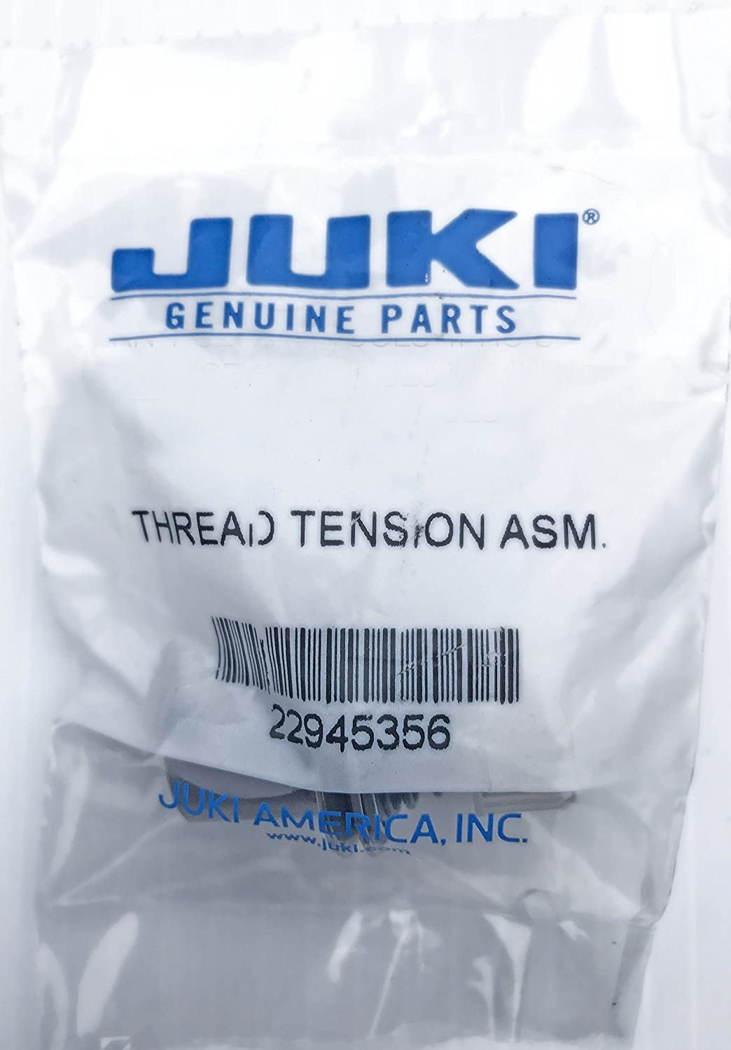 Juki Genuine Part- Part # 22945356 Japan Import - Comes in Sealed Juki Bag w// Bar Code // Do Not Accept Unsealed Bags Juki Original Thread Tension Assembly