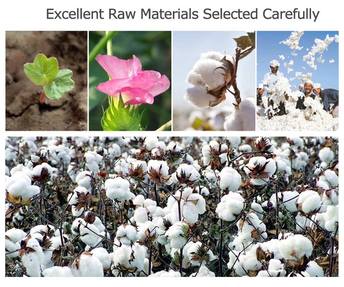 Blanc-Paquet Cadeau 57 Pouces Serviette 2 HongLanAo 100/% Premium/Coton Serviettes Set 3 pi/èces de Doux et Epais Hautement Absorbant Drap de Bain 1 30 30 Pouces 650g 14 170g