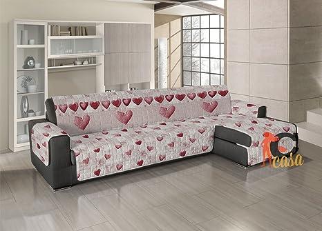 Funda acolchada para sofá, protectora de sofá con chaise ...