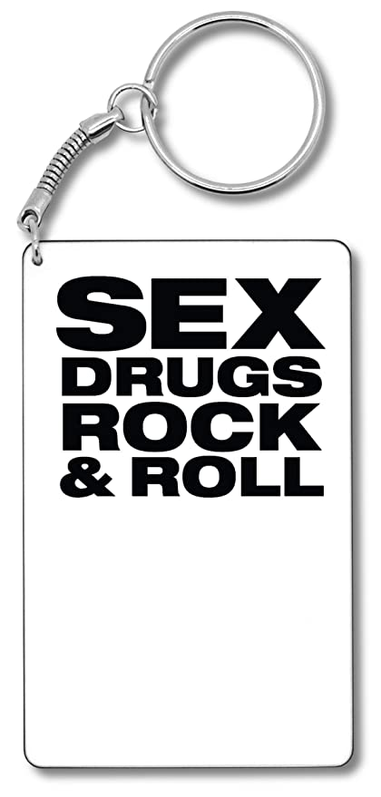 Sex Drugs Rock & Roll Llavero Llavero: Amazon.es: Equipaje
