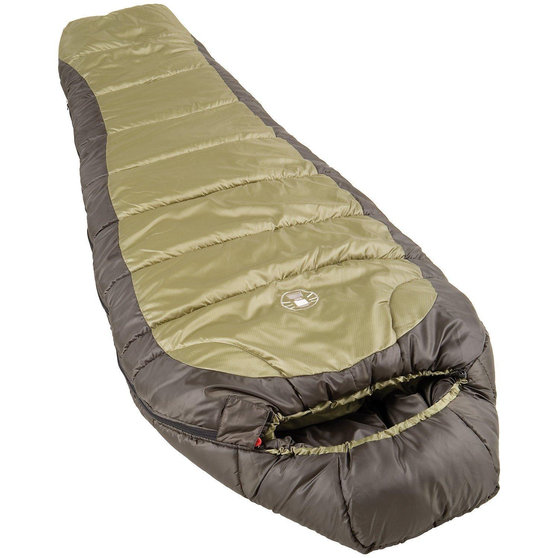 amazon co uk coleman sports outdoors coleman north rim sleeping bag olive green black 208 cm
